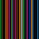 Geometric neon lights vertical pattern by mikath
