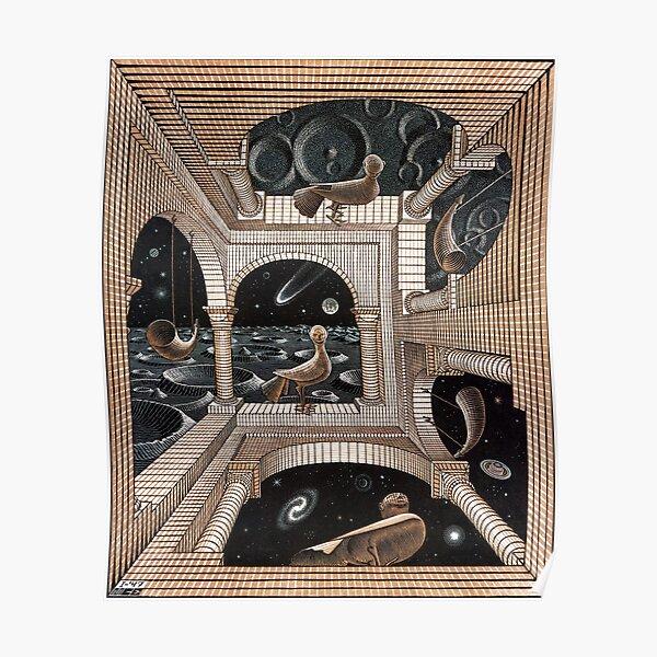 Escher - Another World II Poster