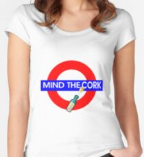 Mind the Cork Women's Fitted Scoop T-Shirt