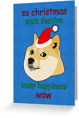 so christmas doge by dansoup - Christmas Doge