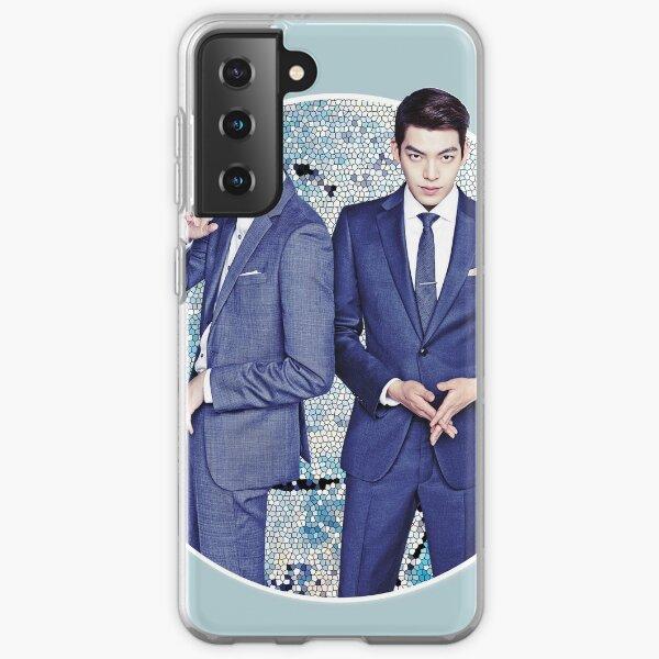 Lee Jong Suk and Kim Woo Bin Samsung Galaxy Soft Case