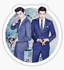 Lee Jong Suk and Kim Woo Bin Sticker