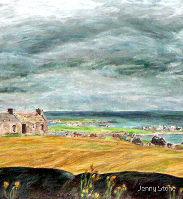 Castle Hill, Stronsay by Jenny Stone
