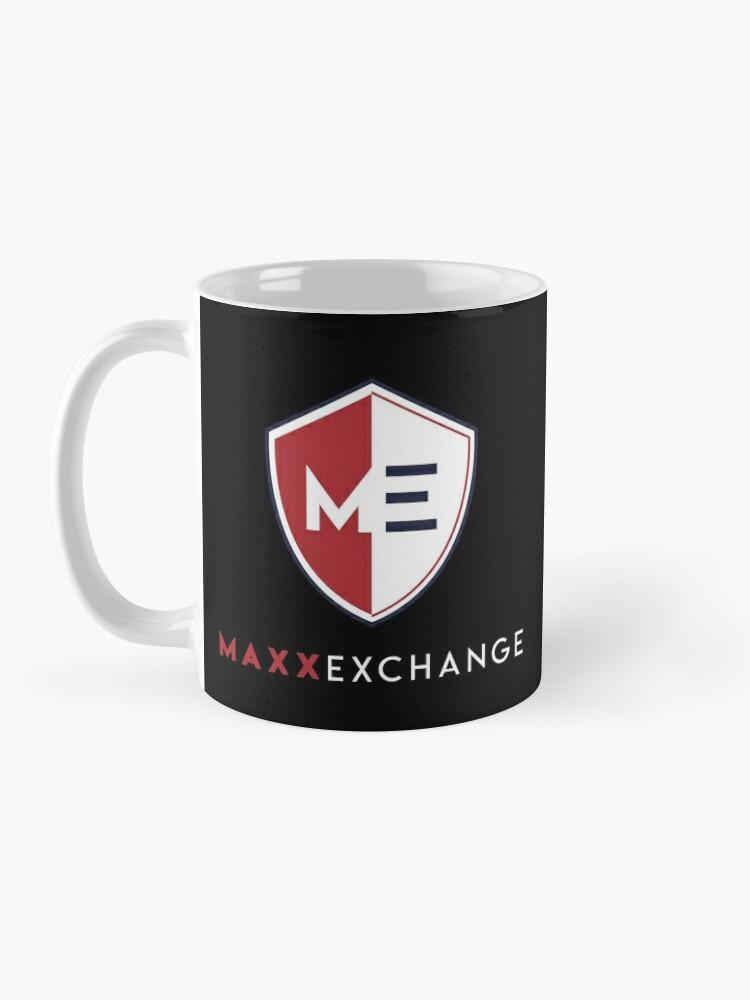 Alternate view of Maxx Exchange Brand Name Trademark Insignia Badge. Mug