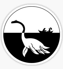 Nessy (Loch Ness Monster) Logo Sticker