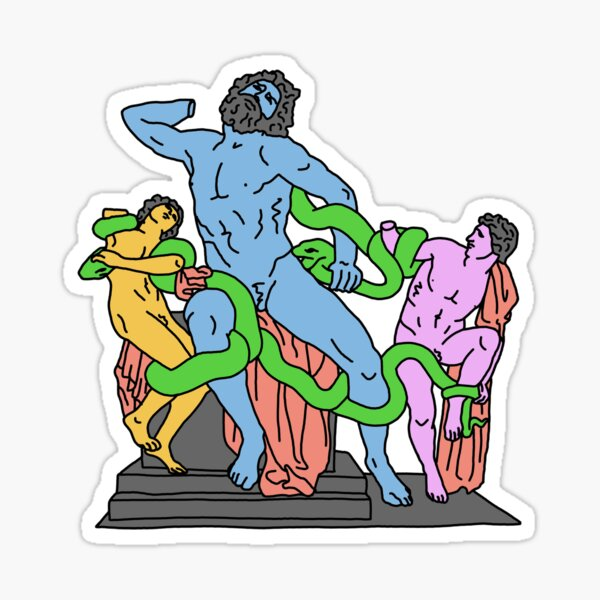 Laocoön and His Sons Sticker
