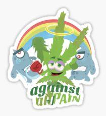 Pain Fighter Sticker