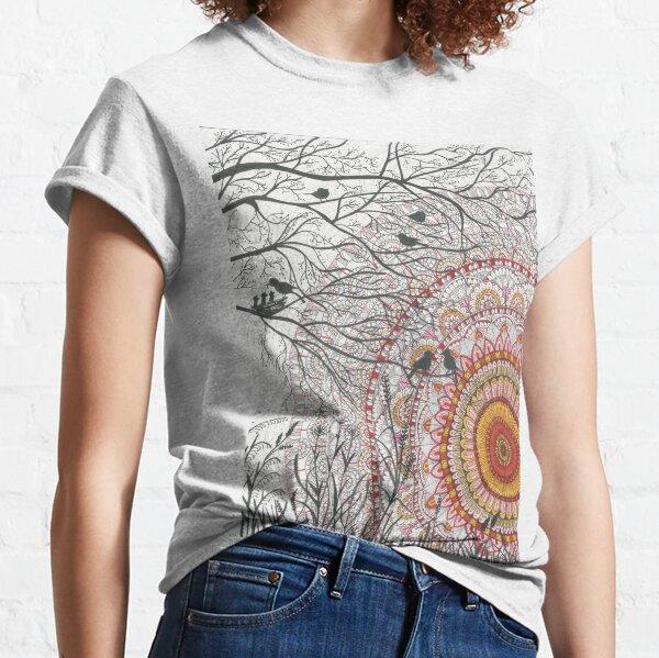 Sunset mandala Classic T-Shirt