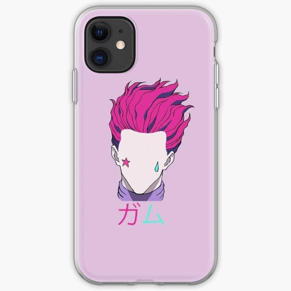 "Hisoka ""Bubble Gum"" Kanji iPhone Soft Case"