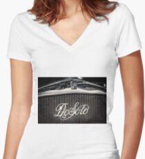 DeSoto Women's Fitted V-Neck T-Shirt