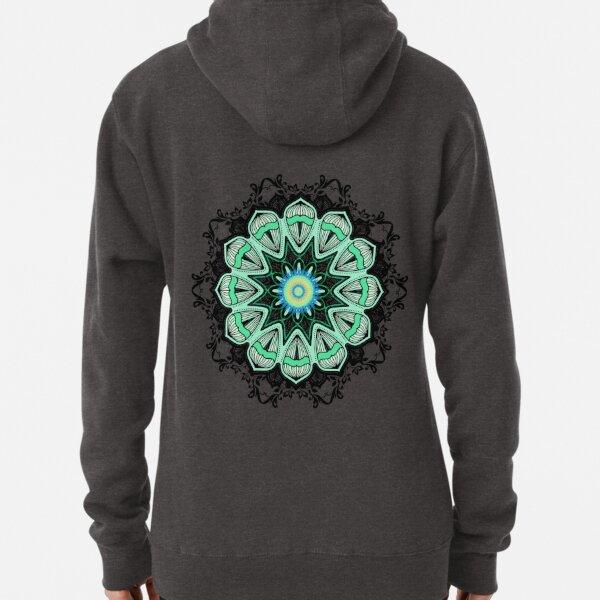 Abstract Art Mandala Pullover Hoodie