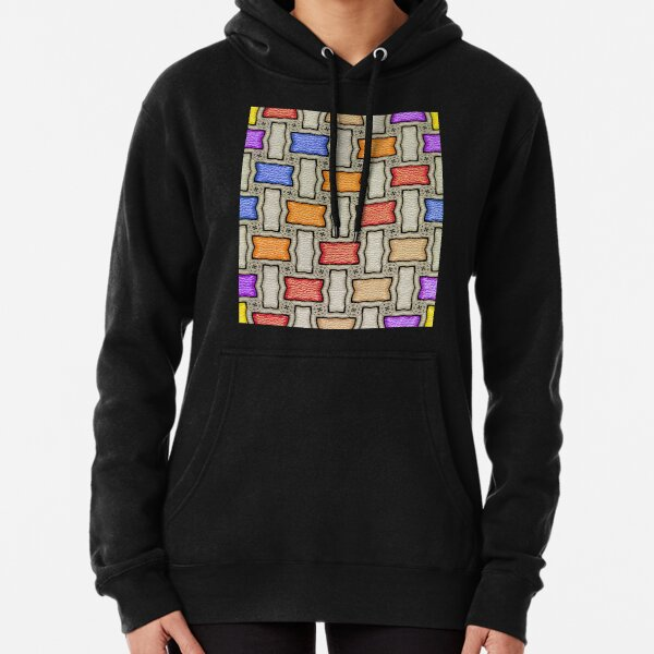 Victorian Conblock in Colors Pullover Hoodie