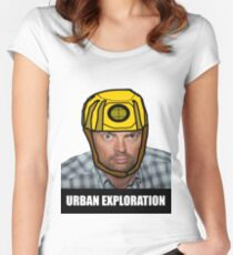 Urban Exploration Women's Fitted Scoop T-Shirt