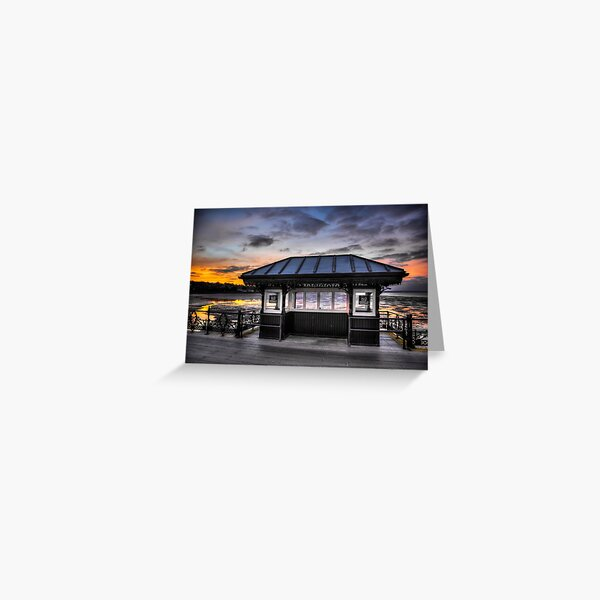 Ryde Pier Greeting Card