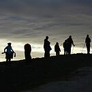 Summit Silhouettes by photobymdavey