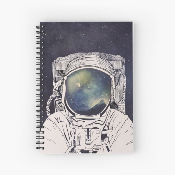 Dreaming Of Space Spiral Notebook