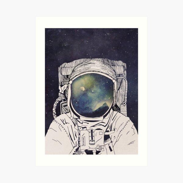Dreaming Of Space Art Print
