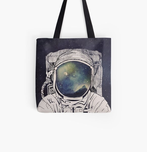 Dreaming Of Space All Over Print Tote Bag