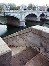 Down to the Tevere River by Sandro Rossi
