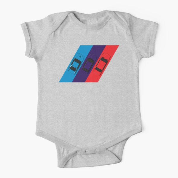 ///M Short Sleeve Baby One-Piece