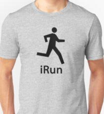 iRUN black T-Shirt
