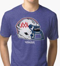 mw Helmet Tri-blend T-Shirt