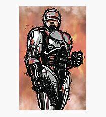 Robocop Photographic Print