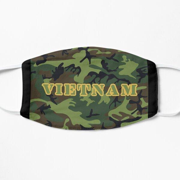 Vietnam war camouflage khaki  face mask 2 - veterans of the forgotten war / heroes all Flat Mask