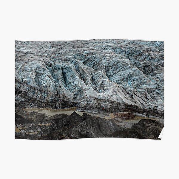 Svinafellsjokull Glacier Poster
