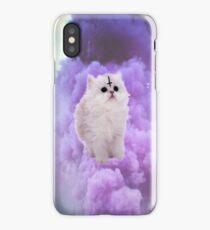 Pastel Goth Kitty. iPhone Case