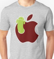 Android vs Apple Unisex T-Shirt