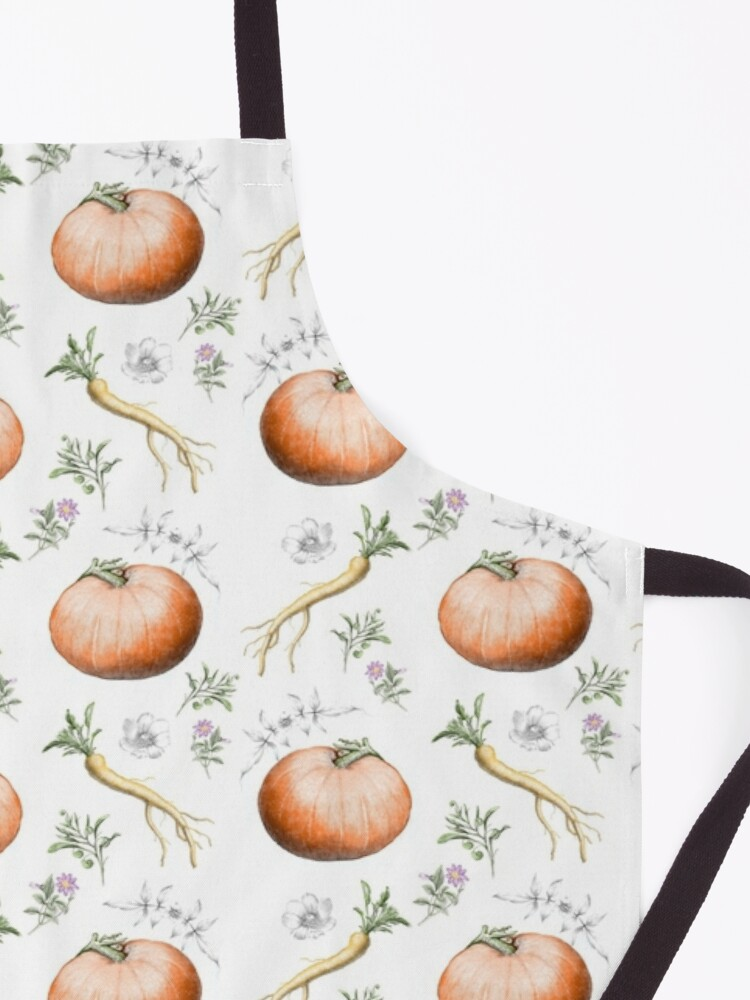Alternate view of Pumpkins and Parsnips  Apron