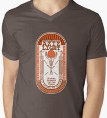 Aziz Light-The Divine Brew-alternate Mens V-Neck T-Shirt