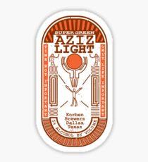 Aziz Light-The Divine Brew-alternate Sticker