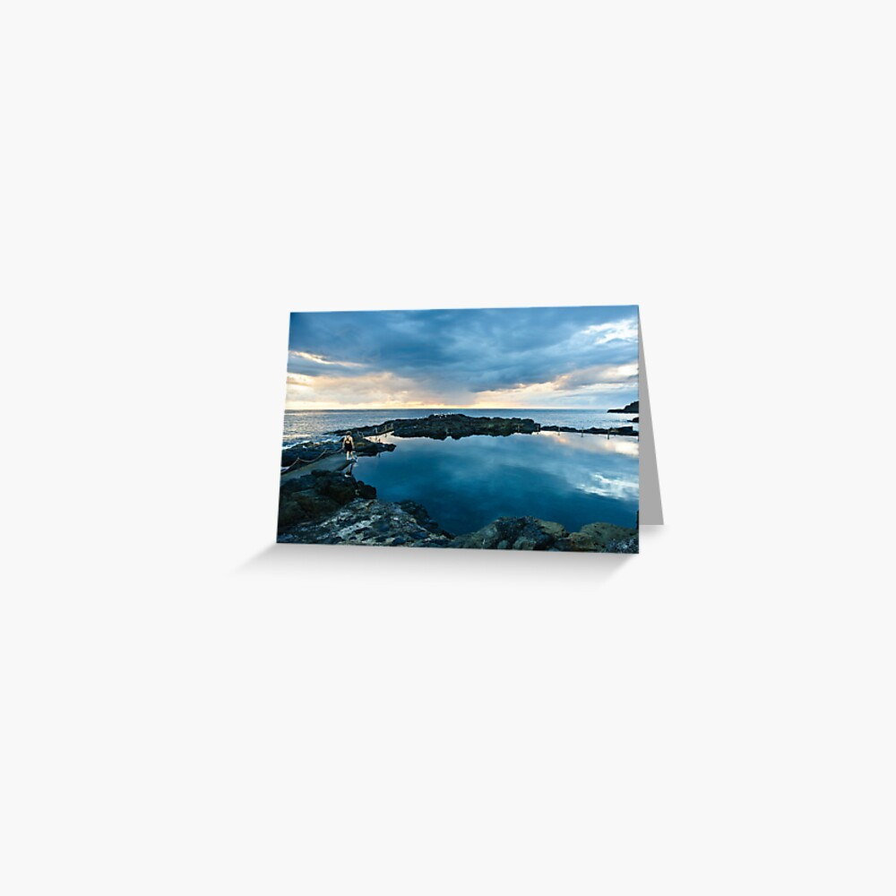 Rock Pool - KIama Greeting Card