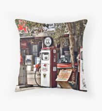 Hackberry on Route 66 Throw Pillow