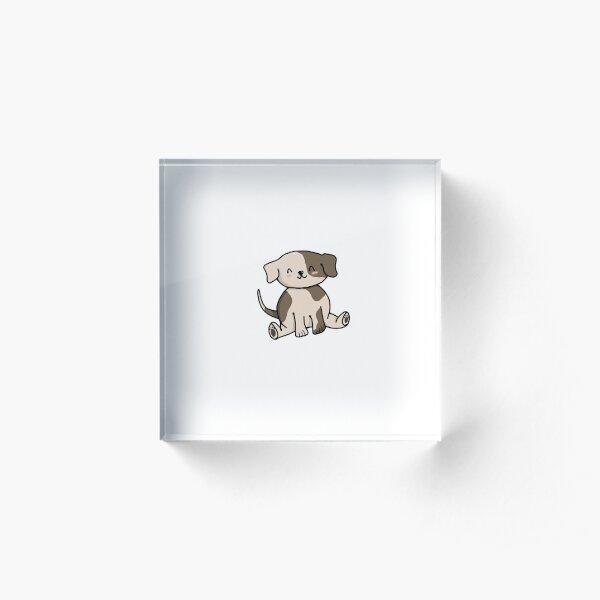 Cute Puppy Acrylic Block