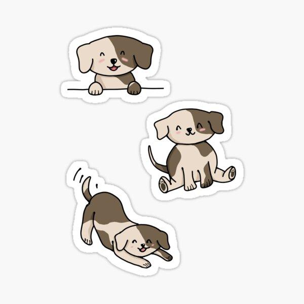 Cute Puppy sticker sheet Sticker
