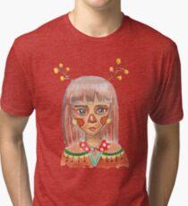 Deerly Girl Tri-blend T-Shirt