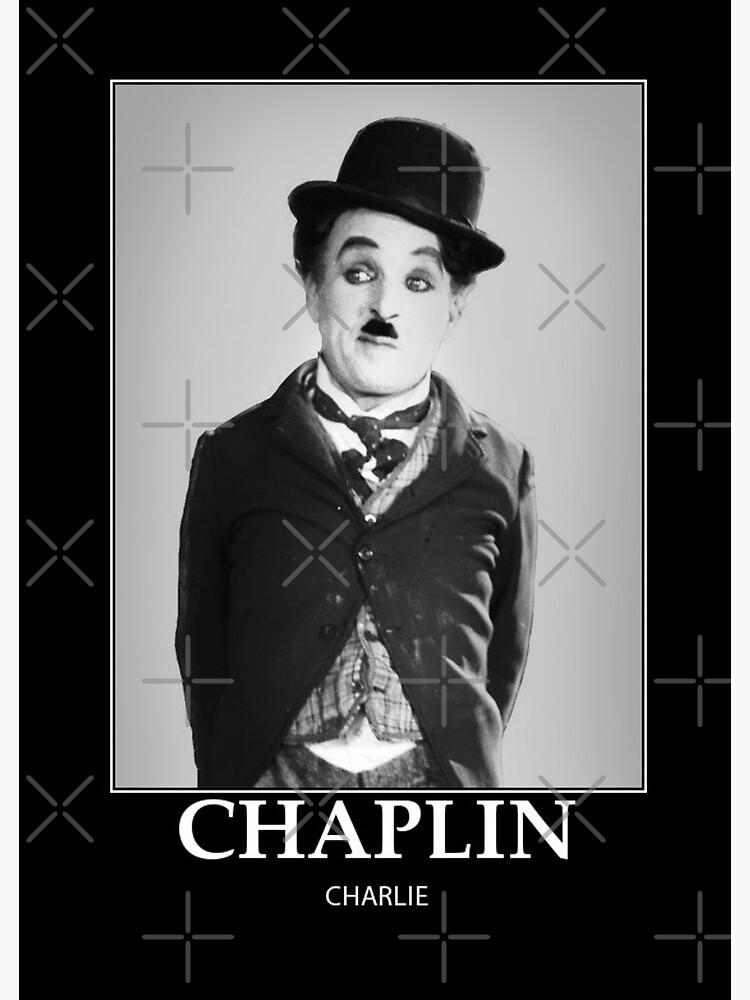Chaplin - BW - D8 de DecoWords