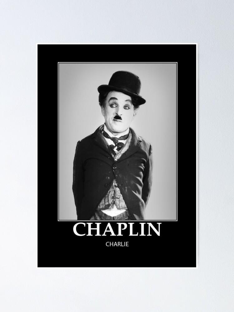 Vista alternativa de Póster Chaplin - BW - D8