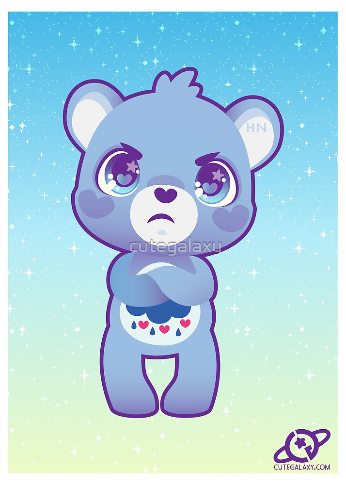 Grumpy bear by cutegalaxy