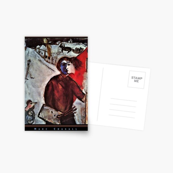 Painting by Marc Chagall Postcard
