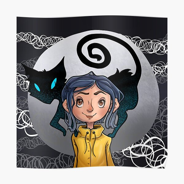 Cute Coraline Posters Redbubble