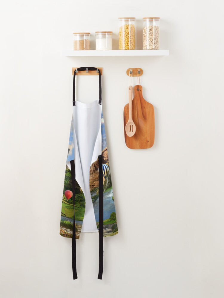 Alternate view of Valley Of The Temples - spiritual, peaceful temple art coexist Apron