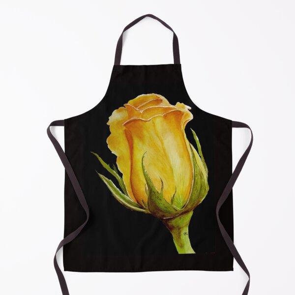 Yellow Rose Bud Apron