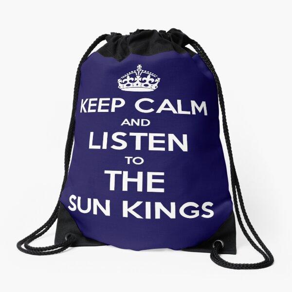 The Sun Kings - Keep Calm and Listen Drawstring Bag