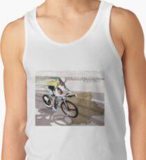 Camisetas de tirantes para hombre cartel retro de ciclismo Contador El Pistolero