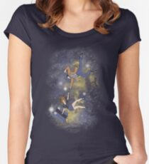 Timey-Wimey Infinite Women's Fitted Scoop T-Shirt