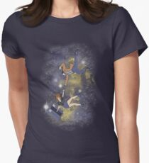 Timey-Wimey Infinite Womens Fitted T-Shirt
